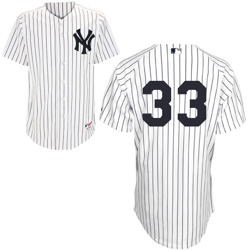 Kelly Johnson #33 MLB Jersey-New York Yankees Men's Authentic Home White Baseball Jersey